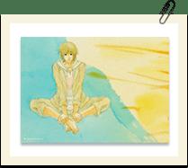 2Lサイズ水彩画ブロマイド 富井大樹