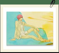 2Lサイズ水彩画ブロマイド 舞山春