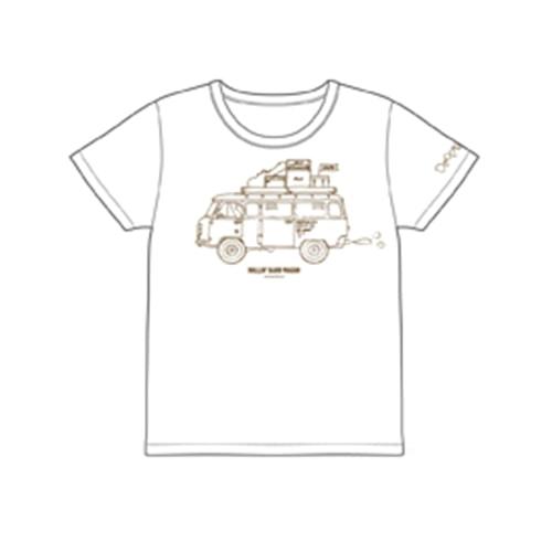 ROLLIN' BAND WAGON TシャツWhite