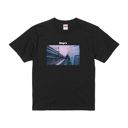 Tシャツと涙 PHOTOTシャツ 黒