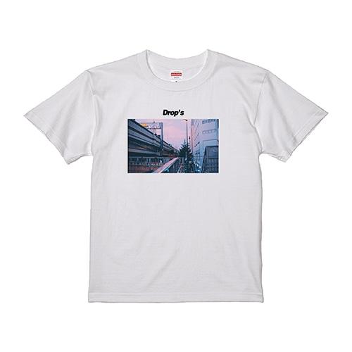 Tシャツと涙 PHOTOTシャツ 白