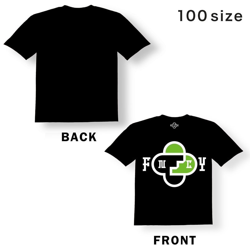 FNCY T-Shirts black [KIDS size] front
