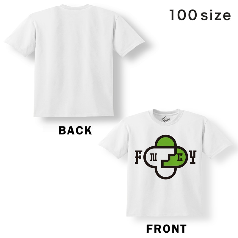 FNCY KIDS T-shirts white [KIDS size] front