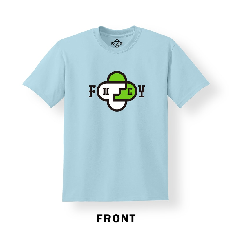 FNCY NEW LOGO T-Shirts powderblue front