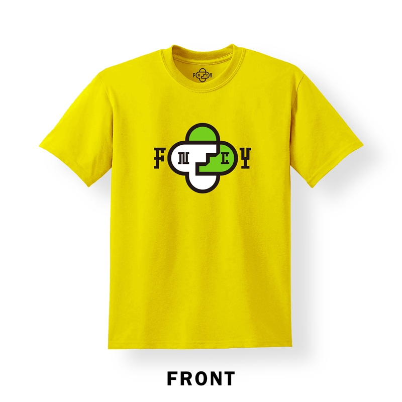 FNCY NEW LOGO T-Shirts yellow