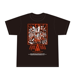 King E Shop Evil A Live 19 コラボイラスト Tシャツ S グッズ