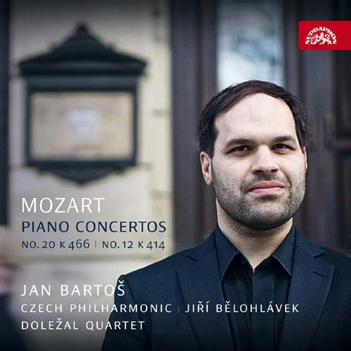 モーツァルト : ピアノ協奏曲 第20番 & 第12番 (Mozart : Piano Concertos No.20 K466 | No.12 K414 / Jan Bartos | Czech Philharmonic | Jiri Belohlavek | Dolezal Quartet) [CD] [Import] [日本語帯・解説付]