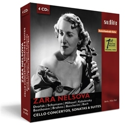Zara Nelsova Berlin recordings (1956-1965) [4CD] [輸入盤]