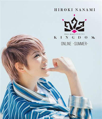 "One-man LIVE773""KINGDOM""ONLINE-SUMMER-"