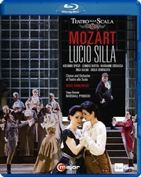 モーツァルト : 歌劇 「ルーチョ・シッラ」 (全曲) (Mozart : Lucio Silla from Teatro Alla Scala / Marc Minkowski | Chorus and Orchestra of Teatro Alla Scala) [Blu-ray] [輸入盤] [日本語帯・解説付]