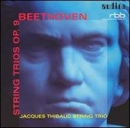 Beethoven:String Trios op9/Jacques Thibaud Trio [輸入盤]