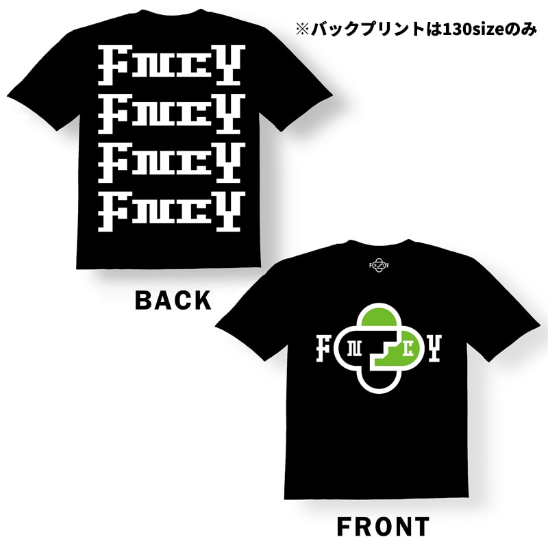 FNCY T-shirt black [KIDS/100size]