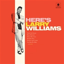Larry Williams / HERE'S LARRY WILLIAMS + 2 Bonus Tracks [LP] [輸入盤]