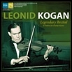 伝説のリサイタル ~ レオニード・コーガン (Legendary Recital in Theatre des Champs-Elysees / Leonid Kogan) [2LP] [輸入盤] [日本語解説付] [Live Recording] [Limited Edition]