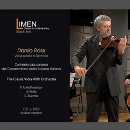 Danilo Rossi : The Classic Viola With Orchestra F.A.Hoffmeister A.Rolla C.Stamitz [1CD + 1DVD] [輸入盤]