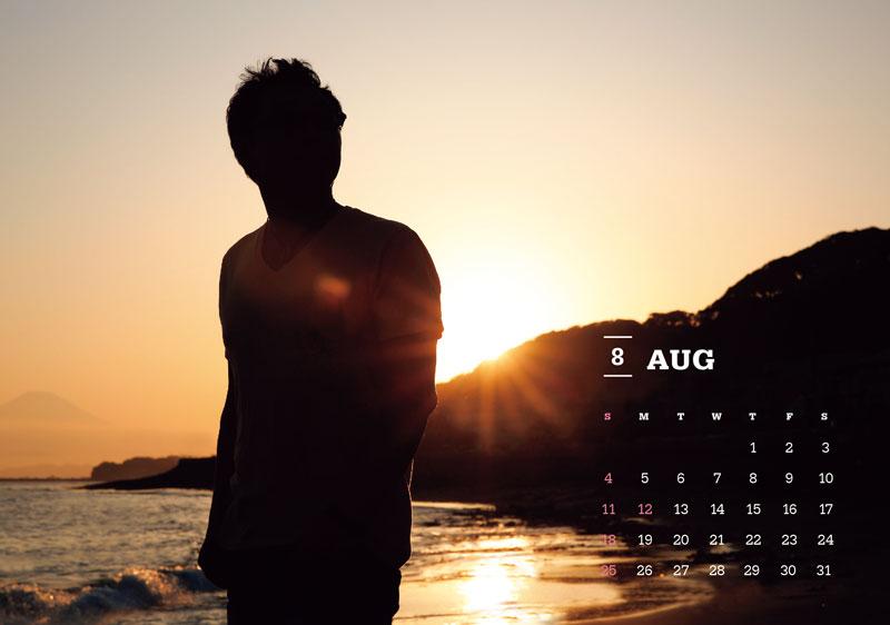 杉山清貴 オフィシャル・カレンダー 2019 [卓上タイプ]