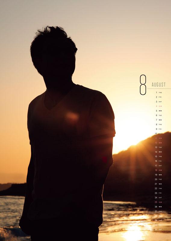 杉山清貴 オフィシャル・カレンダー 2019 [壁掛タイプ]